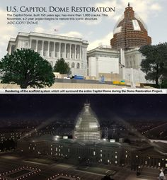 U.S. Capitol Dome Restoration | Illustration courtesy of Architect of the Capitol