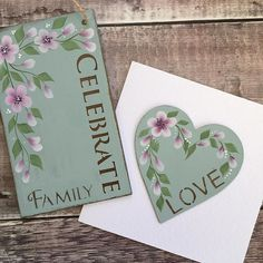 Using stencilling and our Oriental Blossom kit to hand paint this beautiful card and plaque - a great gift idea for Mother's Day