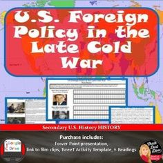 cold war pros and cons Writing Strategies, Teaching Strategies, Teaching Ideas, Teaching Secondary, History Magazine, Interactive Activities, Foreign Policy, Us History, Creative Teaching