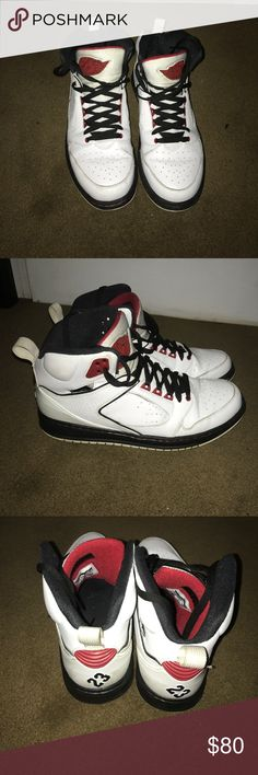 Well Preserved Jordans Size 10.5 Mem Lightly Worn, Kept Preserved, Size 10.5 Men Jordan Shoes Sneakers