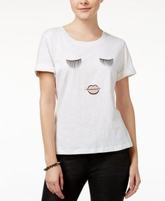 Shift Juniors' High-Low Graphic T-Shirt