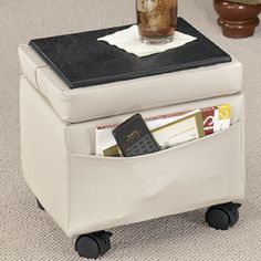 Storage Ottoman - Decorations & Accents - Home - Walter Drake $34.99