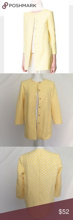 """{ZARA} SHORT CHECKERED COAT Zara 