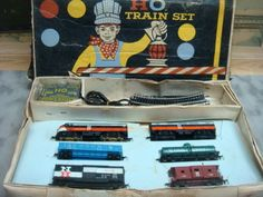 MARX HO Train Set