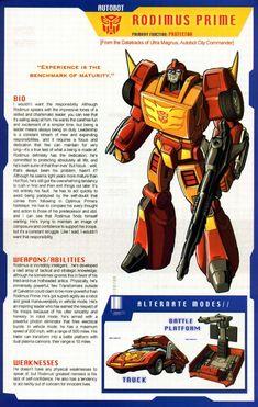 Transformers Universe - Gallery: G1 Rodimus Prime