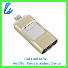 LL TRADER OTG USB Flash Drive Pen Drive 64 128GB For iPhone iPad IOS Android Mac Devices i-Flash Drive Mini USB Memory U Stick