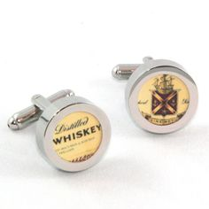 Jameson Irish Whiskey cufflinks by JustLanded on Etsy
