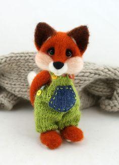 #fox , #felt , #ooak , #polandhandmade , joannazatorska.blogspot.com