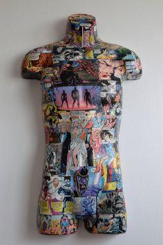 Loose Ends -- Male Mannequin Form Mannequin Torso, Mannequin Art, Loose Ends, Creepy Dolls, Diy Art, Collage Art, Sculpture Art, Art Pieces, Decoupage