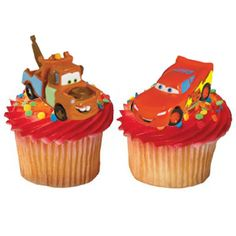 Disney Cars Cupcake Toppers (6)