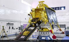 India is getting ready to launch its first-ever lunar lander on Sunday 14 July. As part of the mission, the lander will be riding on top of the country's most powerful rocket, the Geosynchronous Satellite Launch Vehicle Mark III. Carl Sagan, Isro India, Vikram Sarabhai, Indian Space Research Organisation, Moon Orbit, Lunar Lander, Moon Surface, Landing Craft, Moon Missions