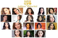Miss World Asia ConTestant 2013