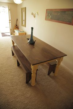 mahogany drop leaf table - free plans, drawings & instructions