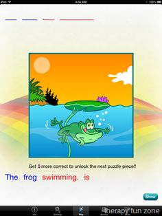 Rainbow Sentences App - Pinned by @PediaStaff – Please Visit http://ht.ly/63sNt for all our pediatric therapy pins