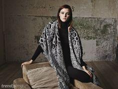 Sfera: Colección Woman–Otoño 2014, cuadrados y ponchos