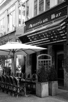 Adolf Loos - American Bar, Vienna, 1910