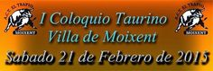 torodigital: Coloquio Taurino en Moixent