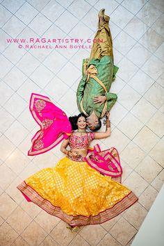Brilliant #Desi, #IndianWedding Photo by @ragartistry http://www.Ragartistry.com/ Atlanta, GA/Portland, OR