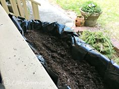 How to Install a Trough Planter - 3 Little Greenwoods