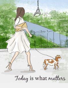 My future life in Paris.