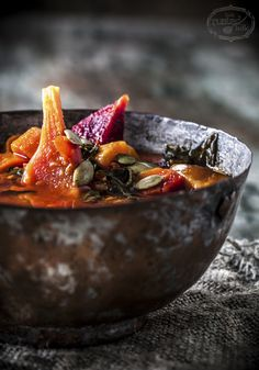 Healthy detox vegetable soup.