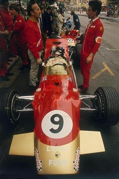 Colin Chapman & Graham Hill
