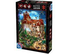 Puzzle D-Toys Noche en el Castillo Encantado de 1000 Piezas