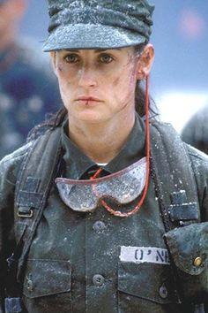 Demi Moore en 'La teniente O'Neill'
