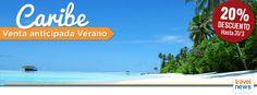 #ofertas #Caribe #Mexico #Dominicana #Brasil #Cuba #Jamaica #PuertoRico #Viajes #Ofertas 20% hasta 31/03. Haz click en la imagen para más información