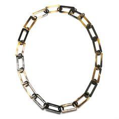 QueCraft Horn Chain Necklace - Q9667