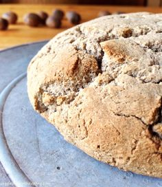 Buckwheat Maple Bread - vegan and glutenfree with a touch of maple - www.veggiestylewithdaphne.com