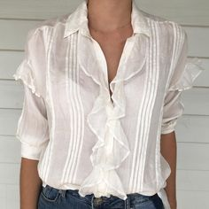The hand loom silk Sissy shirt is one of my favourite pieces in my collection. I introduce a new colour every season but always have the classic navy and ivory available. Wear it with denim or beautiful tailored pants. Taking orders now! #cassandraharpershirts #sissyshirt #handloomsilk #sustainablefashion #ethicalluxury #supporttheloom #classicnavysilkshirt Sustainable Fashion, Loom, Ivory, Colour, Silk, Navy, My Favorite Things, Denim, Classic