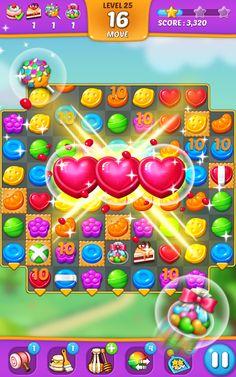 Lollipop Sweet Taste Match 3 Online Hack - Get Unlimited Coins Match 3 Games, App Hack, Hack Online, 3 Online, Colorful Candy, Game Item, Brain Teasers, Rainbow Colors