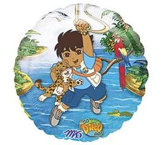 Go Diego Go 18 Foil Balloon *** Check this awesome product by going to the link at the image.