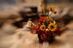 A fun and alluring centerpiece - designed by Buttercup: Image by Phil Kramer.