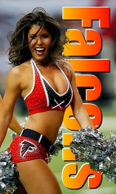 | Falcons cheerleader | When a Defensive End breaks through the O-Line and charges across the open field, should he be left with the sudden and obscene choice of: a. Being a man (a real man), or… b. Planting the token female six feet under? Male Cheerleaders, Six Feet Under, One Of The Guys, Baby Gates, Hate Men, Guys And Dolls, Open Field, Gender Bender, Patriarchy