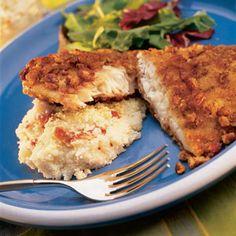Tilapia Recipe   Recipe for Tilapia   Pecan Crusted Tilapia — Faithful Provisions