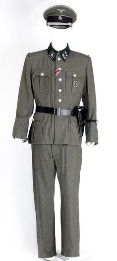 WW2 German SS officers uniform  HIRE TO FILM TV THEATRE ONLY