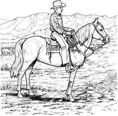 cowboy-coloring-pages-6.jpg (800×788)
