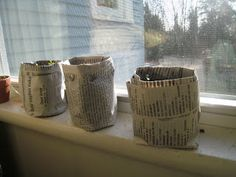 """Adirondack Family Time™: The Adirondack Family Activities™ Guidebook Series:: Gardening with Kids: Make Your Own Newspaper """"Peat"""" Pots"""