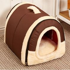 Winter New Arrival Lovely Soft Pet Products Dog Bed Pet House Washable Pet Circular House Durable For small large dog cats-in Houses, Kennels & Pens from Home & Garden on Aliexpress.com | Alibaba Group