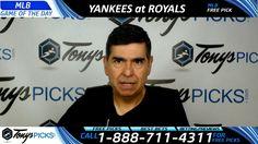 New York Yankees vs. Kansas City Royals Free MLB Baseball Picks and Pred...