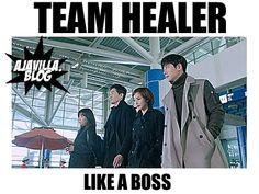 Love the #Healer gang!