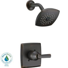 Delta Ashlyn 1-Handle Pressure Balance Shower Faucet Trim Kit in Venetian Bronze (Valve Not Included)