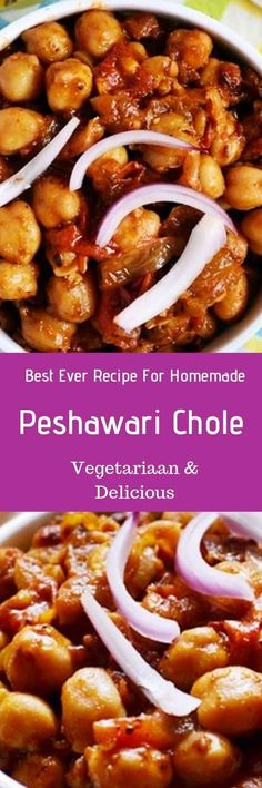 Peshawari chole recipe- a very delicious and easy recipe for chole masala different from usual punjabi chole recipe.Easy no grind chole masala recipe. Channa Recipe, Masala Recipe, Vegetarian Curry, Vegetarian Recipes, Healthy Recipes, Cooking Food, Cooking Recipes, Indian Salads, Kitchens