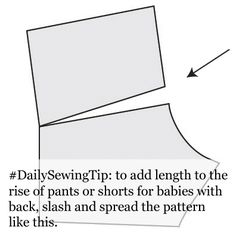 How to adjust back rise to make it longer - https://mellysews.com