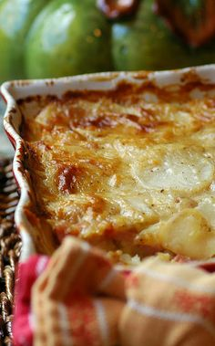 Savoring Time in the Kitchen: Creamy Scalloped Potatoes with Ham