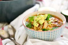 Soups to try on Pinterest | Chicken Tortilla Soup, Soups and Chicken ...