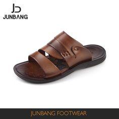 Source Slides slipper sandals men custom logo slippers men colour shading slippers pu brown color 2017 on m.alibaba.com
