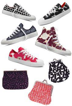Marimekko Her Style, Cool Style, Marimekko Fabric, Diy Fashion, Fashion Design, Sport Chic, Best Sneakers, Textile Artists, All About Fashion